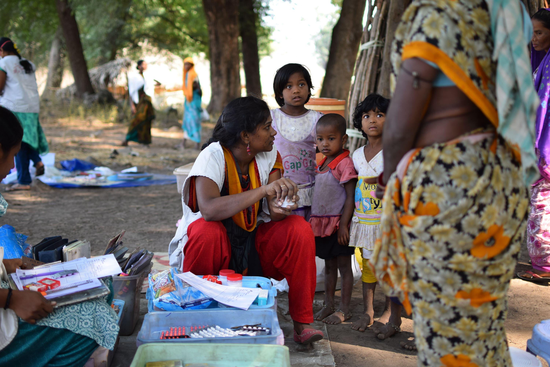Une consultation à l'extérieure en Inde