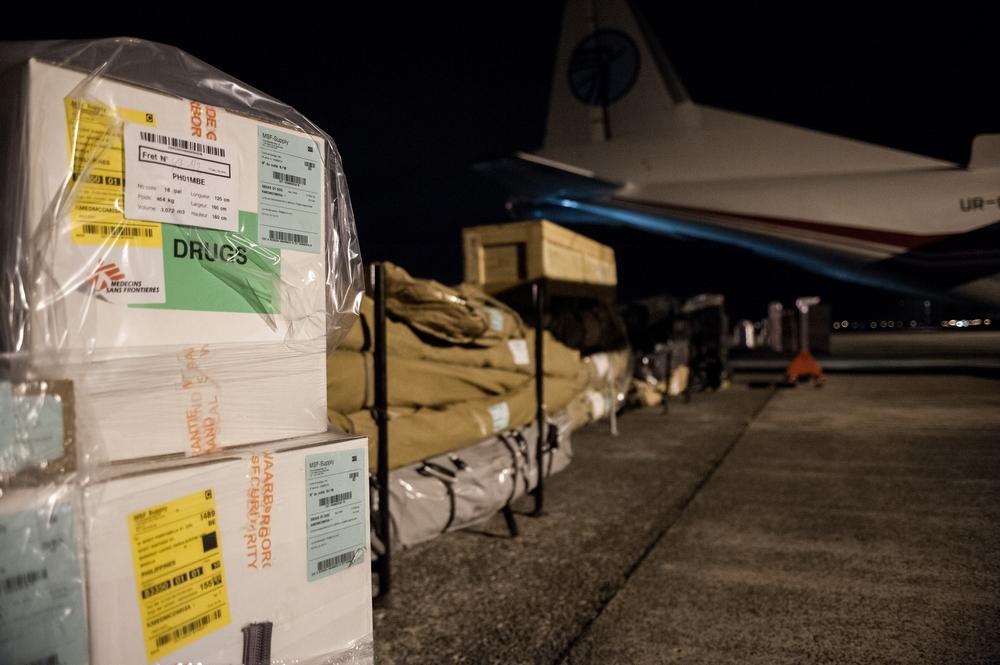 De rechtstreekse cargo naar de Filipijnen in 2013