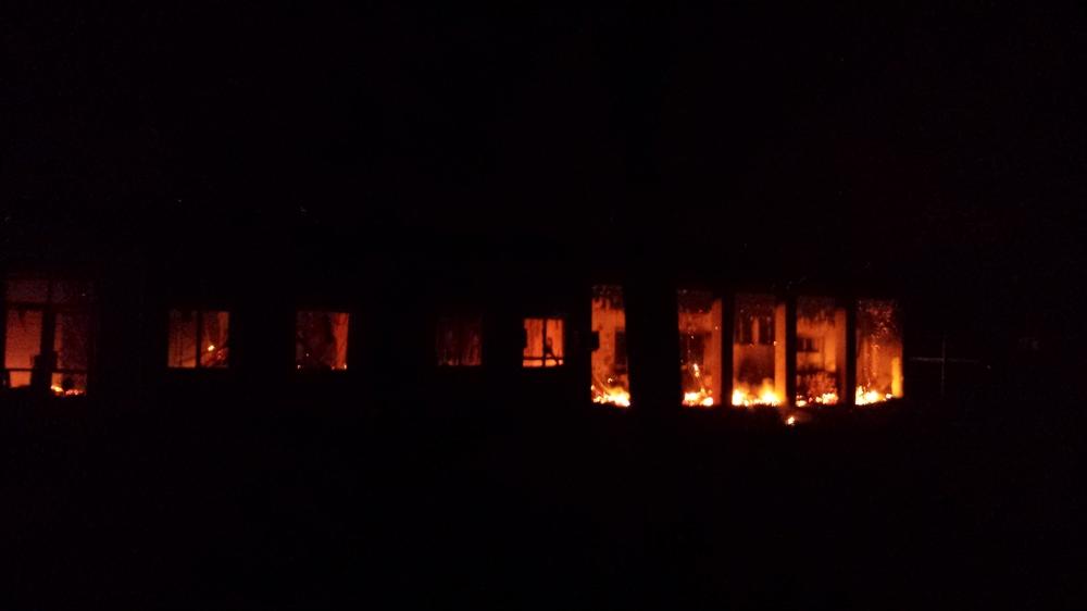 L'hôpital de Kunduz en feu la nuit du 3 octobre 2015