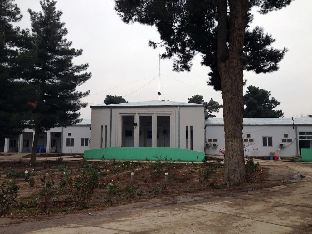 Le centre de traumatologie de Kunduz avant l'attaque du 3 octobre 2015