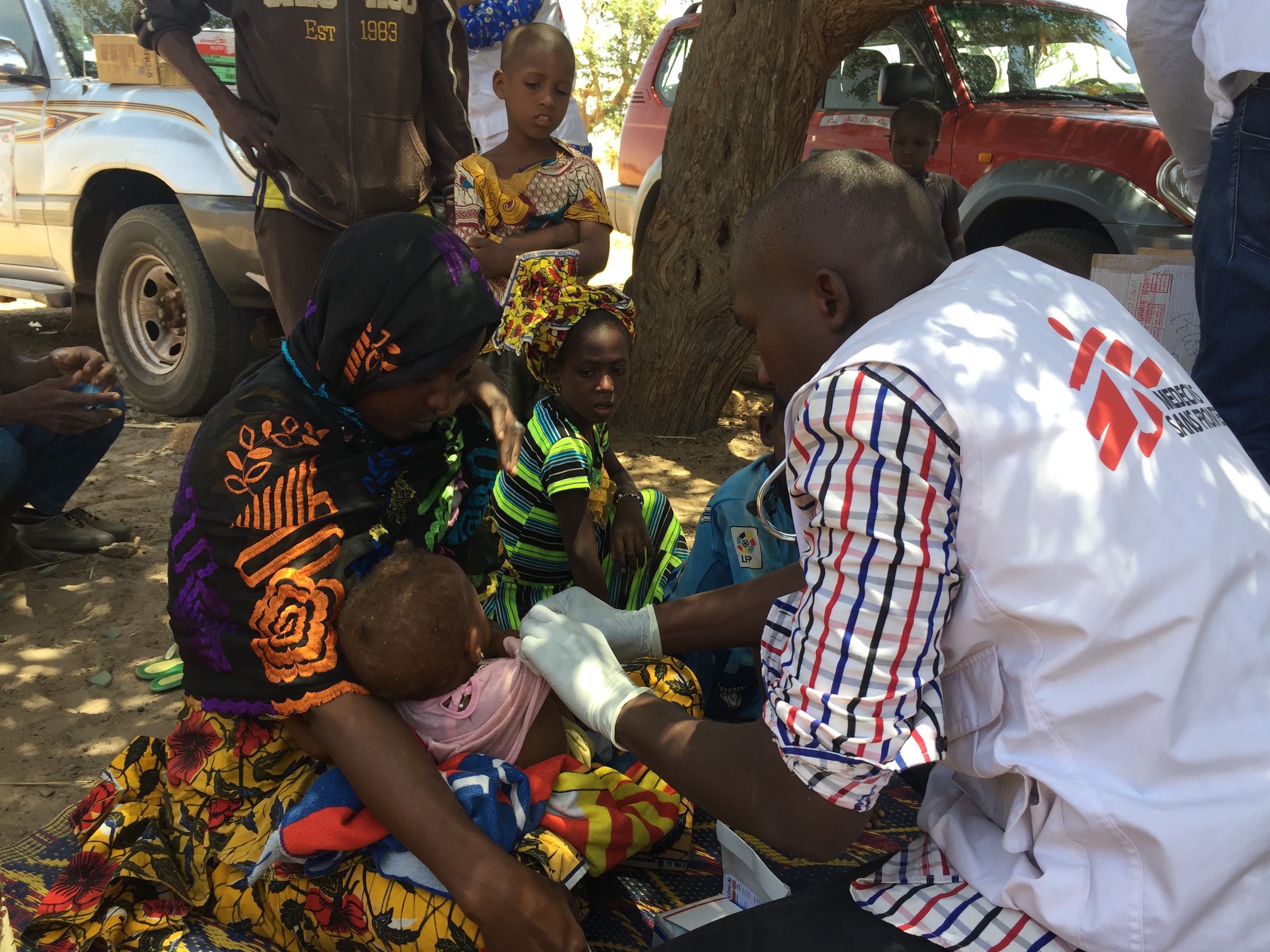 Following the massacre in the village of Ogossagou, MSF provided home care and psychosocial counselling.