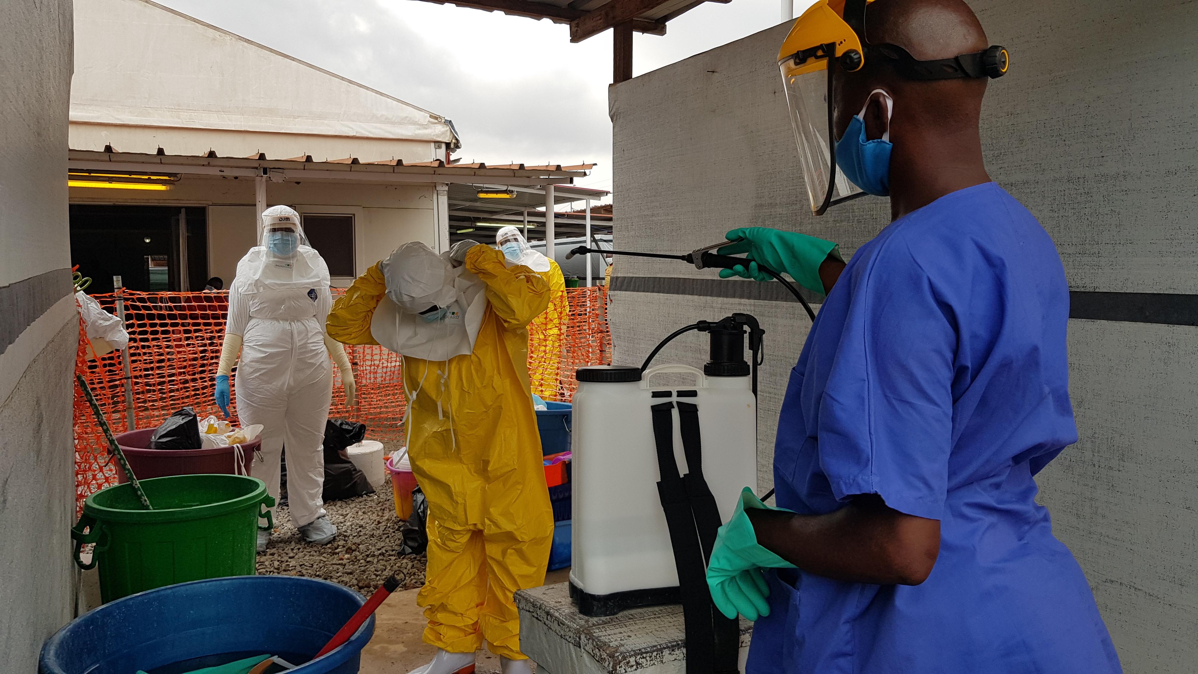 Le virus Ebola de retour en Guinée - Médecins Sans Frontières Belgique