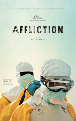"L'affiche du film MSF ""Affliction"""