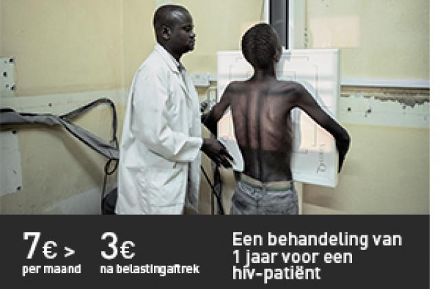 een behandeling van 1 jaar voor een hiv-patiënt