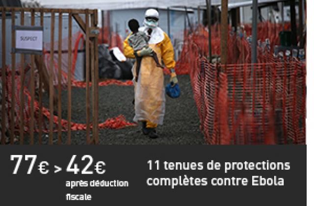11 tenues de protections complètes contre Ebola