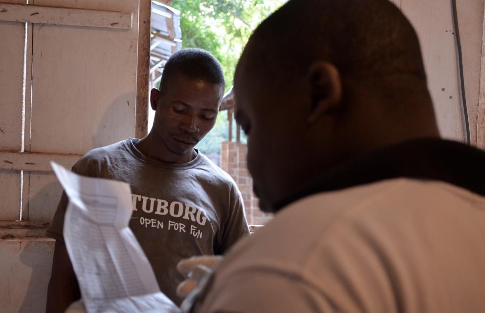 Raymond était travailleur de la santé pour MSF à Zémio en RCA