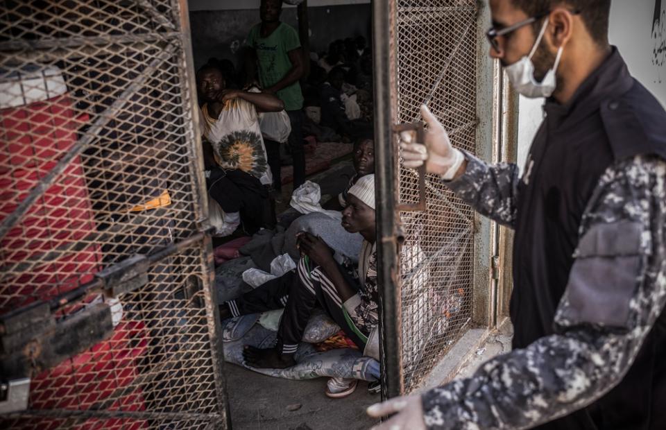 © Guillaume Binet/MSF. Libië, 2017.