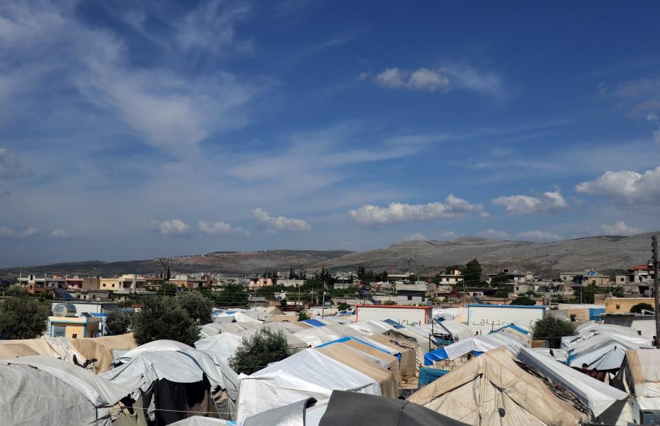een kamp in Syrië