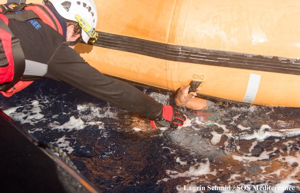 Le 27 janvier dernier, l'Aquarius a secouru 99 personnes en Méditerranée. Un nombre inconnu d'hommes, de femmes et d'enfants sont toujours portés disparus, présumés noyés.