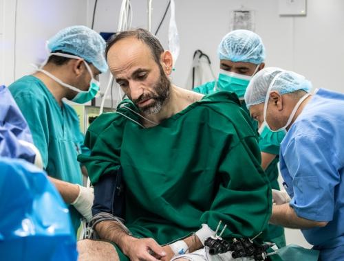 Gezondheidszorg in Mosoel kan terugkomst tienduizenden vluchtelingen niet aan © Sachar Myers. Irak, 2018.