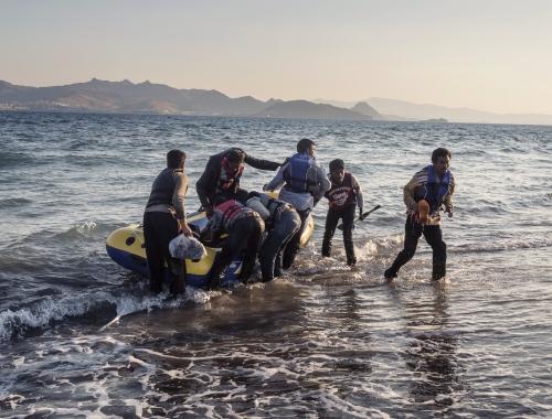Turkije vangt bijna 3 miljoen vluchtelingen op en heeft daarvoor zeker hulp nodig - maar dat mag geen politieke pasmunt zijn. © Alessandro Penso