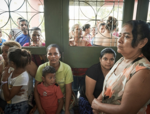 In Choloma ondersteunt AZG een lokale kliniek, gericht op zorg voor zwangere vrouwen en slachtoffers van seksueel geweld