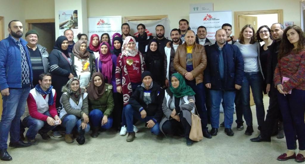 collega's in Lebanon