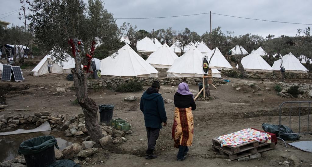 Le camp de Moria à Lesbos