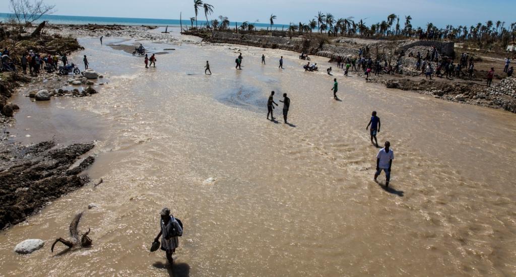 © Andrew McConnell, MSF. Haïti, 2016.