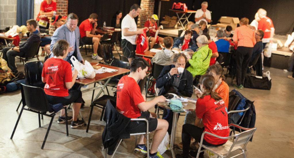 Autour de la table MSF 20 km Bxl 2016