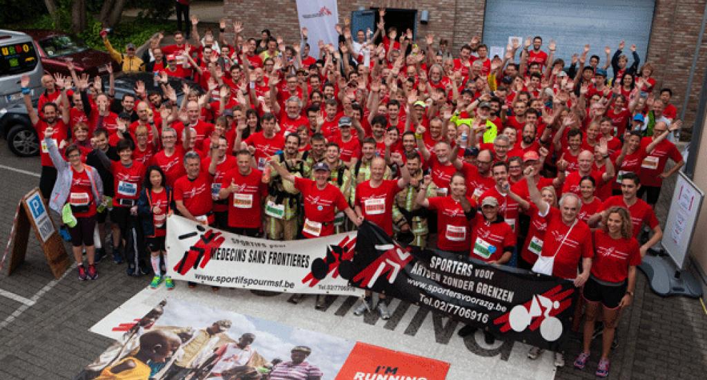 Photo de groupe MSF 20 km Bxl 2016