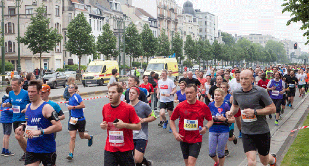 En course MSF 20 km Bxl 2016