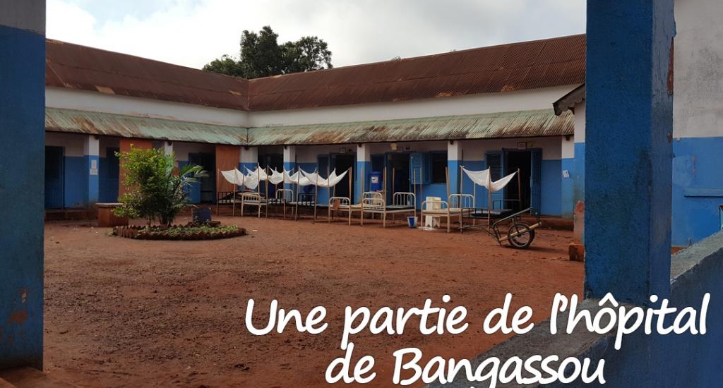 L'hôpital actuel de Bangassou