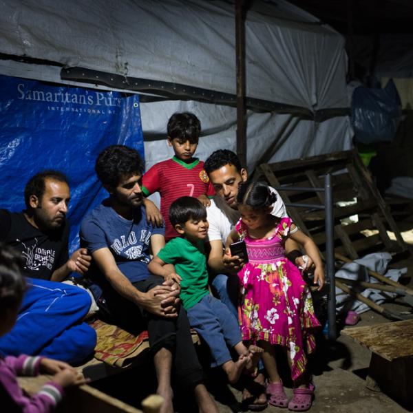kasim vertelt over zijn leven thuis en het leven in het kamp