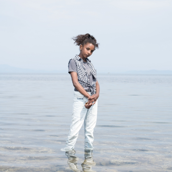 Riham a 12 ans, elle vient de Syrie