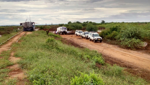 Intervention MSF au Malawi suite au cyclone Idai © MSF, 19 mars 2019